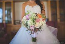 Wedding Florals / Florals by Petals + flower design inspiration