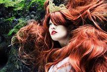 Long hair inspiration/Délkové inspirace