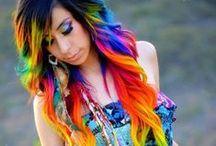 Colorful hair/Barevné inspirace