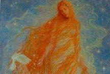 Longhair in art/Vlasy v umění