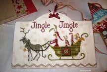 cross stitch projects 2 / Mostly Christmas cross stitch / by Sharon Cassella