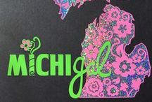 Car Decals / Show your MichiGal™ pride by placing one of these beauties on your car window.