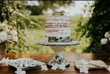 Wedding Cakes & Desserts / time to cut the cake