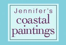 Coastal & Tropical  Paintings for You! / Lively Oil Paintings Inspired by The Land You Love. Fun Gift Idea to Enhance anyone's Home or Office. http://jennressmann.weebly.com