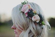 Wedding Hair, veils, and Headpieces