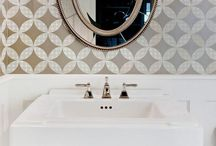 Cloakroom / Downstairs Toliet Ideas / Cloakroom / downstairs toilet | Let your imagination run wild | Inspirational ideas for the smallest room in the house