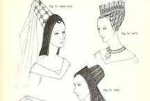 Medieval Women's Headresses / by Katherine Akin