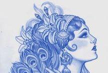 Donne (tattoo sketch)