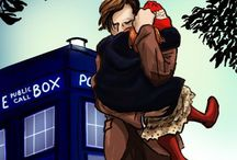 Doctor who / A crazy man with a blue box