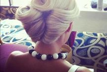 All about hair  / Hair updo's, tutorials, color, cuts, remedies, products and recipes / by Leah Fritz