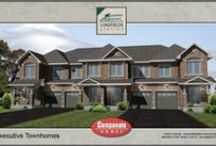 Executive Townhomes Floor Plans / Executive Townhome Floor Plans for The Longfields Station community, in Barrahven.