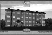 Condo Flat's Floor Plans / Floor Plans for Campanale Home's Condo Flats located in Longfields Station, Barrhaven.