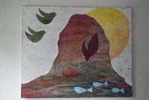 Schilderijen / Mijn eigen schilderijen