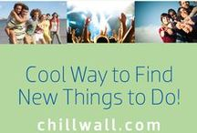 Welcome to Chillwall / Take a picture with Chillwall poster below from a cool spot in your city. Share it on this board!