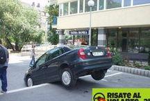 Parcheggi tutti da ridere!