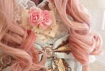 Lolita / Victorian inspired Japanese fashion. Not all is Lolita, some are just victorian things.