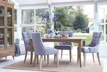 Dining Room Furniture / Create an atmosphere in your Dining Room that suits your furniture style.  Mix and match ranges to give that eclectic look, add contrasting fabrics to dining chairs to stand out from the crowd.  Create a country kitchen or a moody sophisticated eating area to entertain friends or gather with the family.  View our dining sets http://www.multiyork.co.uk/furniture/dining-room-sets