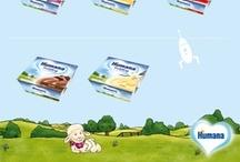 Humana Produkte / ALLES, WAS IHR KIND BRAUCHT  Für jede Alters- und Entwicklungsstufe Ihres Kindes haben wir die richtigen Produkte: Humana Babynahrung enthält alle wichtigen Nährstoffe, die Ihr Kind für eine gesunde Entwicklung braucht. Vom ersten Tag an bis über das erste Lebensjahr hinaus.