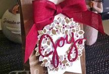 My Stampin' Up! Christmas Projects