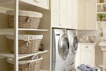 Laundry ideas / Storage and country laundry ideas
