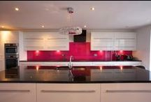 Our Splashbacks… / We strive to create stunning and unique glass solutions for your home and business…