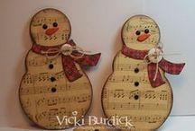 ◄ Vánoce  = Christmas ► / Dekorace, vánoční přání, zima, winter, Christmas decorations