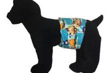 Dog Belly Bands / Use Barkerwear's washable belly band to keep your male dog from marking around the house. It is ergonomically designed to help with housebreaking and/or incontinence problems (in older male dogs).   https://barkerwear.com/product-category/accessories/washable-dog-belly-bands/