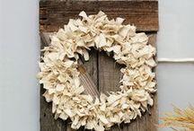 Wreaths / Wreaths, fall wreaths, christmas wreaths, spring wreaths, summer wreaths, door hanger, diy wreath