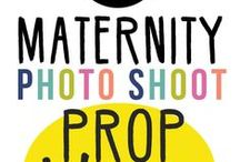 Maternity Props / How to incorporate a prop into your maternity photo shoot! Amy Doak Photography of Buffalo, New York encourages all her clients to bring props and mementos that they would love to have photographed and captured during the maternity photoshoot.