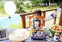 "Dan & Daddy / Hello world! ""Dan & Daddy"" is a father and son bow tie pair brand in Japan."