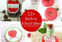 Back to School / School, back to school, printables, lunches, teacher gifts, school supplies