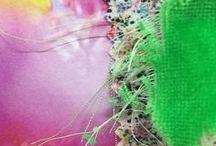 Sophie De Mesmaeker / Recherches textiles