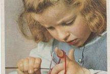 Knitting,sticka,sy,nålbindning
