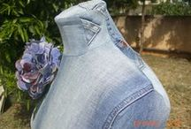 Denim Clothing & Fashion / Recycle those old jeans into something fashionable or fun to wear.