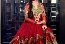 Dia Mirza Anarkali Suits / by Deshi Besh