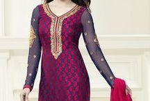 Prachi Desai Designer Salwar Suit / by Deshi Besh
