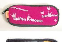 EpiPen meenemen / Hoesjes, tasjes, mapjes en nog veel meer om je adrenalinepen in te bewaren en mee te nemen.