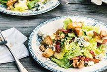 Salatfreuden / Man findet keine Freunde mit Salat? Von wegen! Hier posten wir köstliche Salat-Rezepte, bei denen für jeden Geschmack garantiert der passende Salat dabei ist.