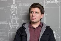 Artists ➡ Randall Munroe / Better known as XKCD. Is he an artist? I think so. And a brilliant one at that.