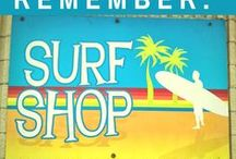 Surf Shop / Forget anything? Check out our Surf Shop in the park!