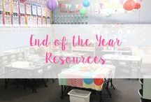 End of the Year Resources / Go out with a BANG! Fun, engaging activities to end the year on a high! Activities, crafts, gifts and party ideas!