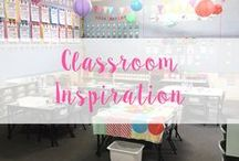 Classroom Inspiration / Beautiful ideas for Classroom Decor - themes, posters and quotes!