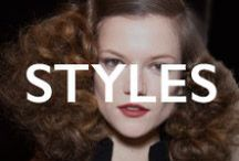 HAIR.styles / editorial and inspirational hair styles / by Mane Addicts
