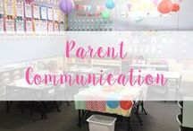 Parent Communication / Ideas for communicating with parents! Parent teacher Conferences, Student led Conferences and positive forms and notes!