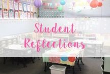 Student Reflection / Ideas for Student reflections and self assessments!