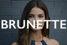 HAIR.brunette / brunette hair color inspiration / by Mane Addicts