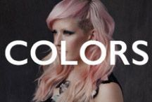 HAIR.wild colors / unusual colors