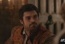 Reign - Lord Condé/Sean Teale / His eyes could make me do almost everything. Is it just me, or is he really going to be important in Mary's life?