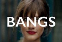 HAIR.bangs / FRINGE, BANGS, FACE FRAMING / by Mane Addicts