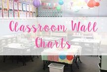 Classroom Wall Charts / Classroom Wall chart designs, ideas and printables!